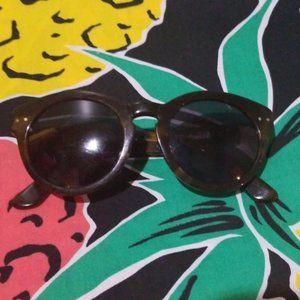 Madewell tortoise oval sunglasses